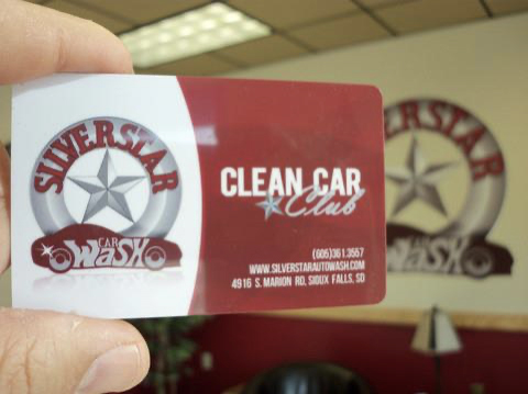 """Silverstar launches the first Unlimited Car Wash program in South Dakota – at the time known as the """"Clean Car Club""""."""